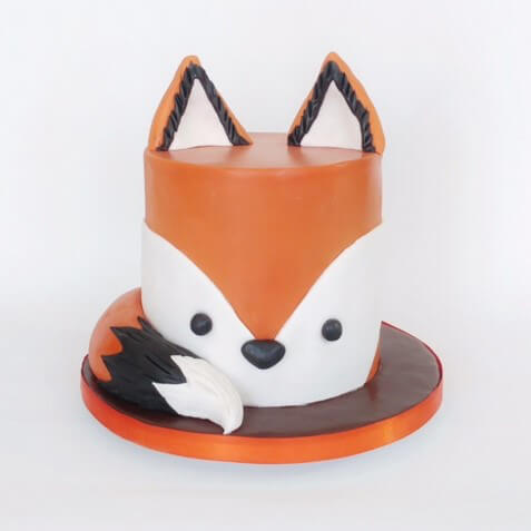 Fun Tastic Fox Cakes Cakes By Robin