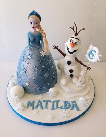 Recent Frozen Birthday Cakes