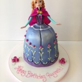 frozen birthday cake (3)