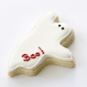 Ghost Halloween cookies