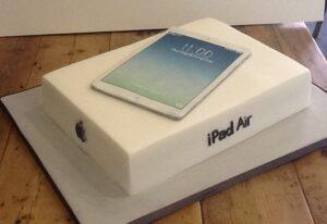 iPad Air corporate cake