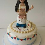 Great British bake off Claire