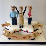 Winner of GBBO 2014 Nancy celebration cake