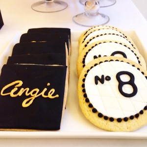 Chanel birthday cookies