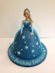 Barbie birthday cake Frozen Princess