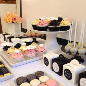 Chanel dessert table