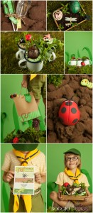 Insect mini beast party