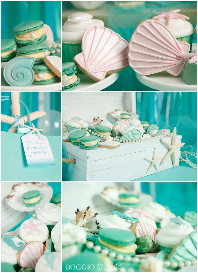 Under the sea mermaid party ideas