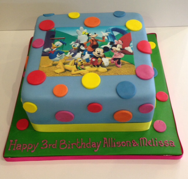 Mickey Mouse Birthday Cake Cakes By Robin