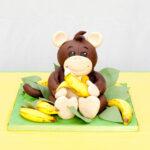 3D Monkey cake
