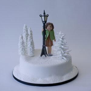 Narnia Christmas Cake