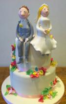 Quentin Blake inspired novelty wedding cake