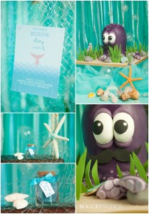 Mermaid themed party inspiration
