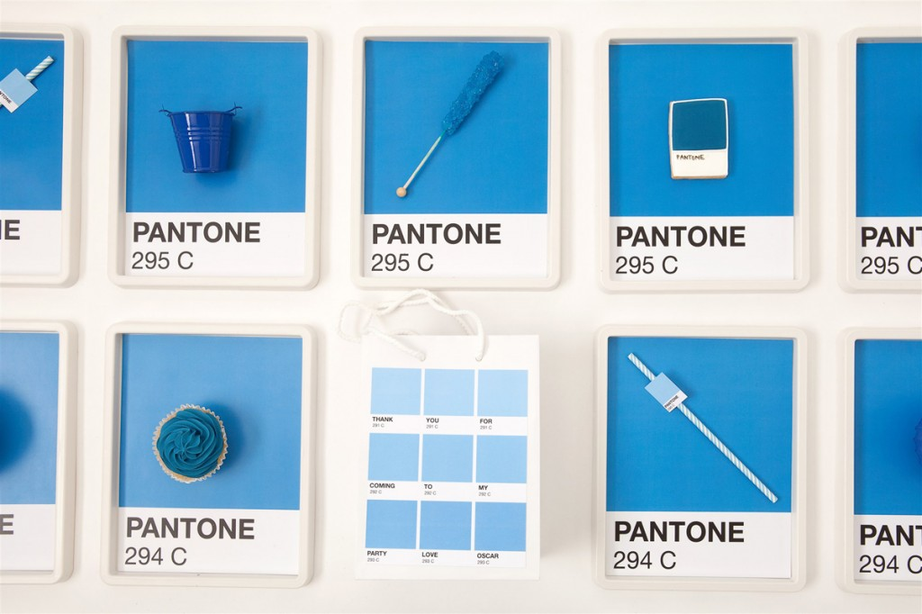 Pantone party ideas