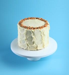 Patisserie cake carrot cake