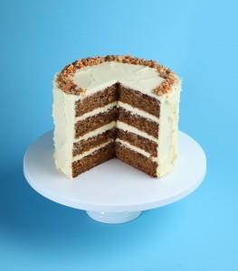Patisserie carrot cake