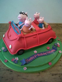 Pig Wedding Cake