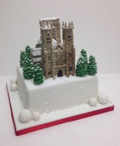 York Minster Building birthday cake