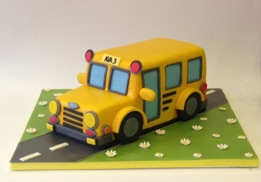 Bus Birthday Cake Uk