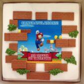 Mario transfer cake