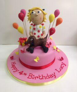 Charlie and Lola birthday cake