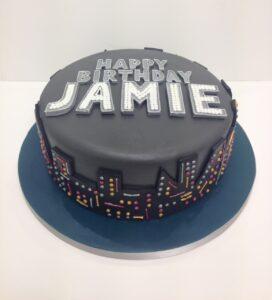 Boardwalk Empire inspired birthday cake