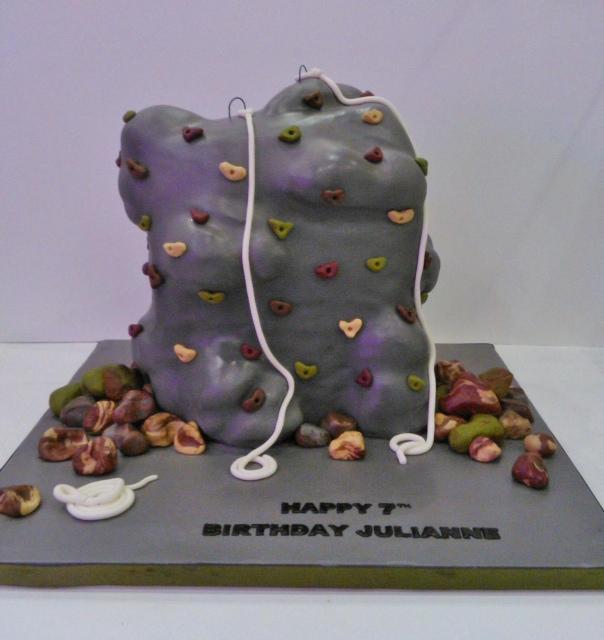 Rock Climbing Cake Decorations