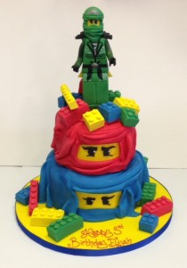 Ninjago children's birthday cake