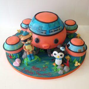 Octonauts house cake