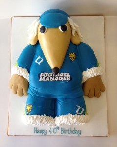 Womble of Wimbledon birthday cake