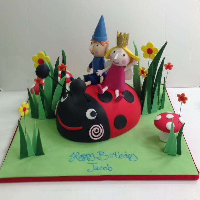 Ben And Holly Birthday Cake Cakes By Robin