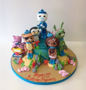 Octonauts sugar model birthday cake