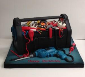 Tool box birthday cake