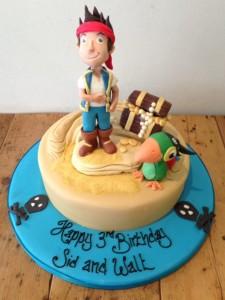 Jake & the Neverland Pirates birthday cake