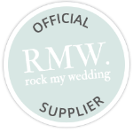 Official Rock My Wedding Supplier logo