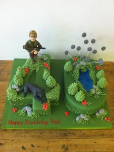 sugar models on cake