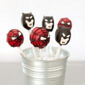 superhero-theme-cakepops
