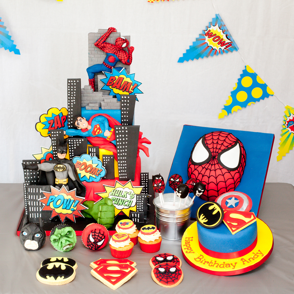 Superhero Dessert Table Custom Dessert Tables