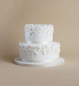 Timeless collection wedding cake 2 tier