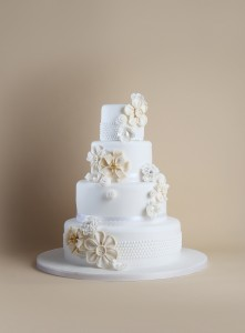 Timeless collection wedding cake