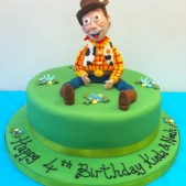 Toy Story Woody birthday cake