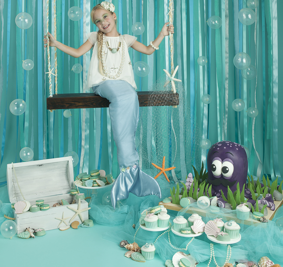 Under The Sea Party Inspiration Cakes By Robin