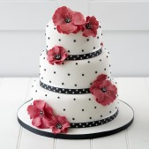 wedding-cake-red-poppies (2)