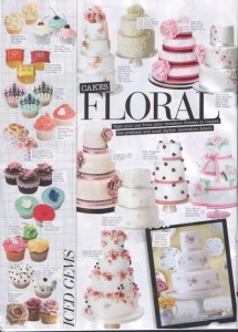 Wedding magazine April May 2011 Cakes by Robin