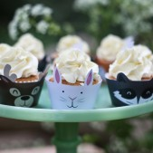 woodland theme birthday party inspiration (12)