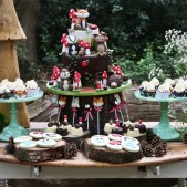 woodland theme birthday party inspiration (13)