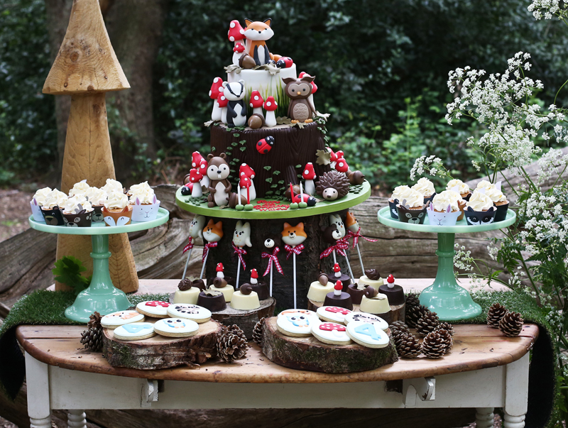 woodland theme party inspiration