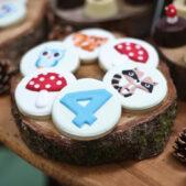 woodland theme birthday party inspiration (4)