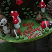 woodland theme birthday party inspiration (7)